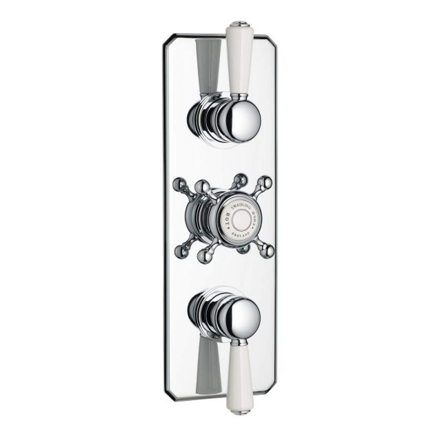 Swadling Invincible Double Outlet Thermostatic Shower Mixer