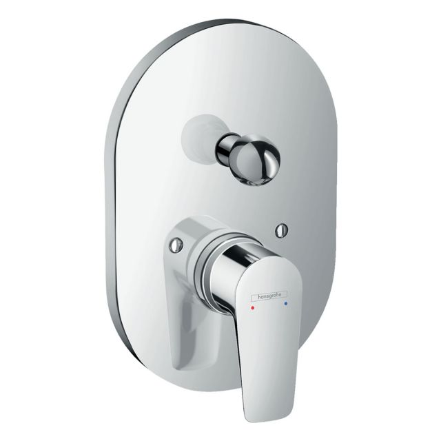 Hansgrohe Talis E Concealed Manual Bath Shower Mixer & Diverter
