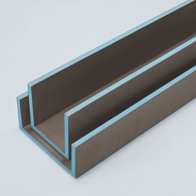 wedi Mensolo U Angled Units Pipe Cover