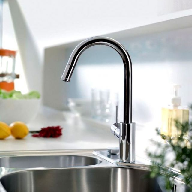 Hansgrohe Talis S2 Variarc Kitchen Mixer Tap with Pull-out Spray