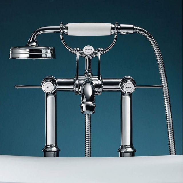 AXOR Montreux Floor Standing Bath Shower Mixer Tap