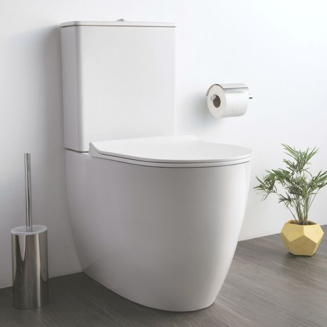 VitrA Sento Close Coupled Rimless Toilet
