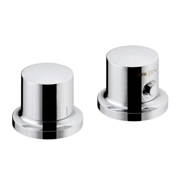 AXOR Massaud Deck Mounted Thermostatic Bath Mixer Tap