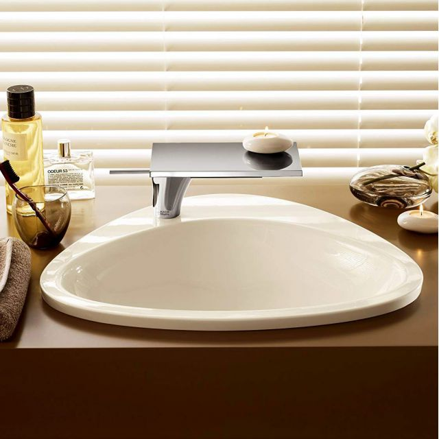 AXOR Massaud Built-in Wash Basin with 1 Tap Hole