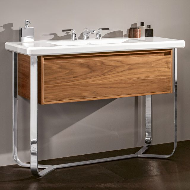 Villeroy and Boch Antheus Vanity Unit with Steel Washstand