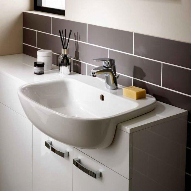Ideal Standard Studio Echo Semi-countertop Washbasin