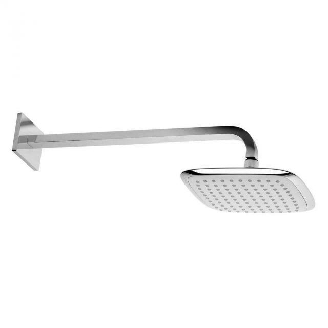 Roper Rhodes Square Shower Arm with Square 200mm Shower Head - SVARM05