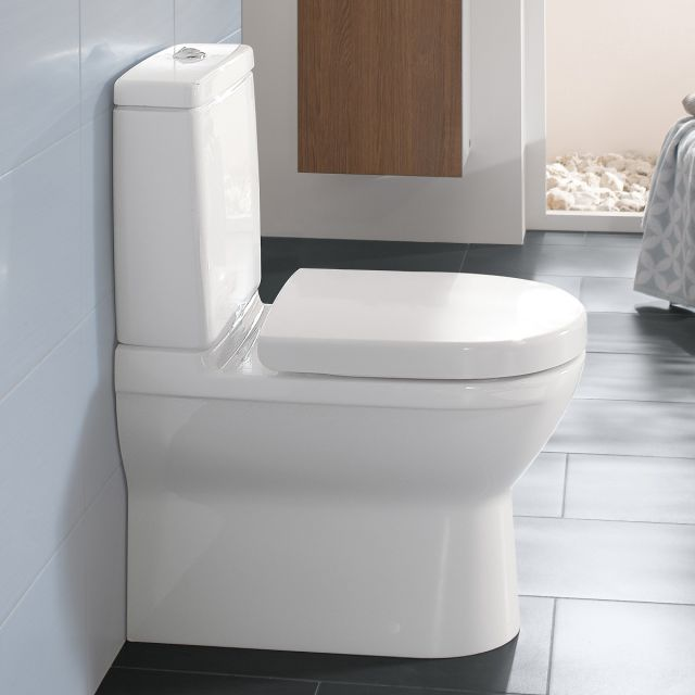 Villeroy and Boch O.Novo Close Coupled Closed Back WC