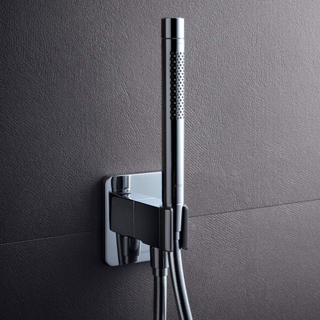 AXOR Urquiola Porter Shower Support and Wall Outlet