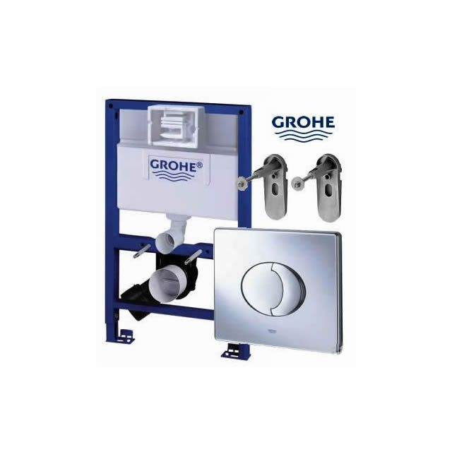 grohe rapid sl 3 in 1 wc frame pack uk bathrooms. Black Bedroom Furniture Sets. Home Design Ideas