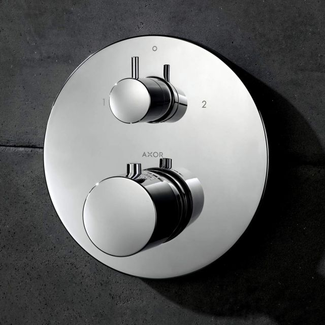 AXOR Uno Shower Mixer with Shut-Off and Diverter Valve