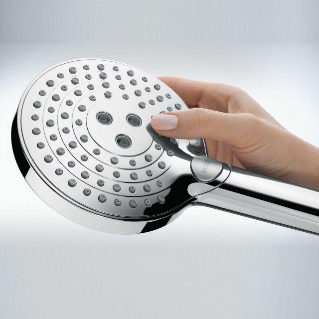 Hansgrohe Raindance Select S Shower Holder Set 120 with PowderRain - 27668000