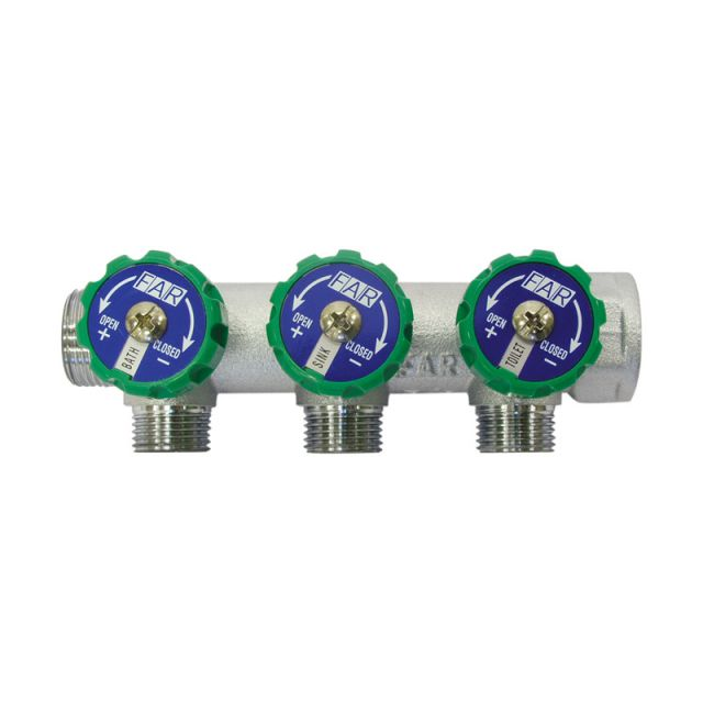 Abacus 3-Way Water Distribution Manifold