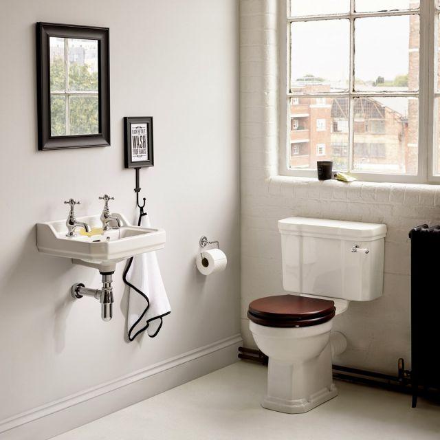 Ideal Standard Waverley Close Coupled Toilet - U470801