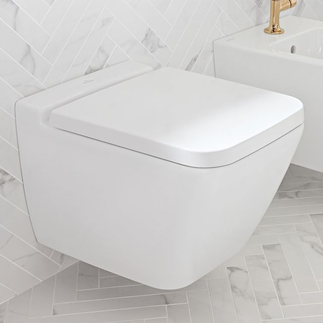 Villeroy and Boch Finion Rimless Wall Hung WC