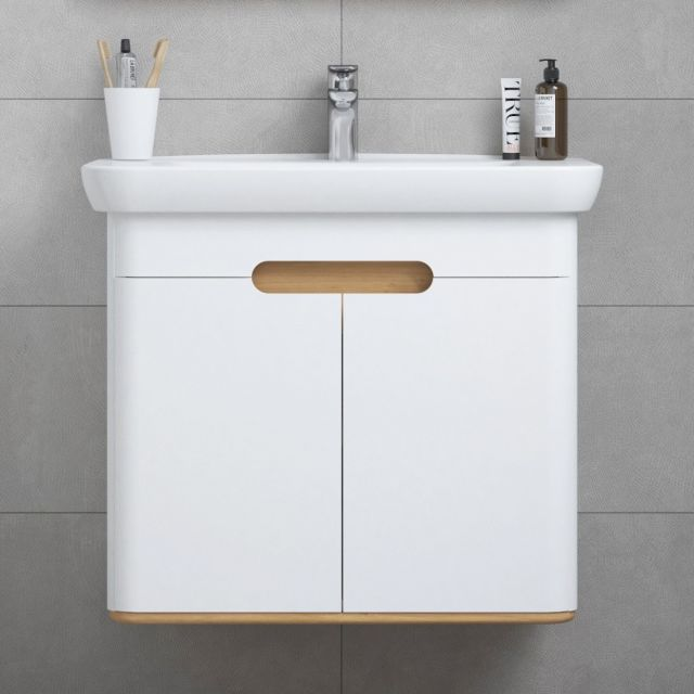 VitrA Sento 2 Door Vanity Unit