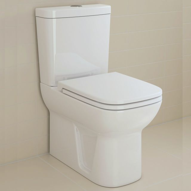 VitrA S20 Close Coupled Closed Back WC
