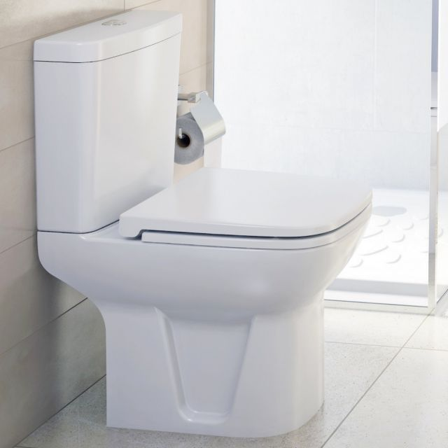 VitrA S20 Close Coupled Open Back WC
