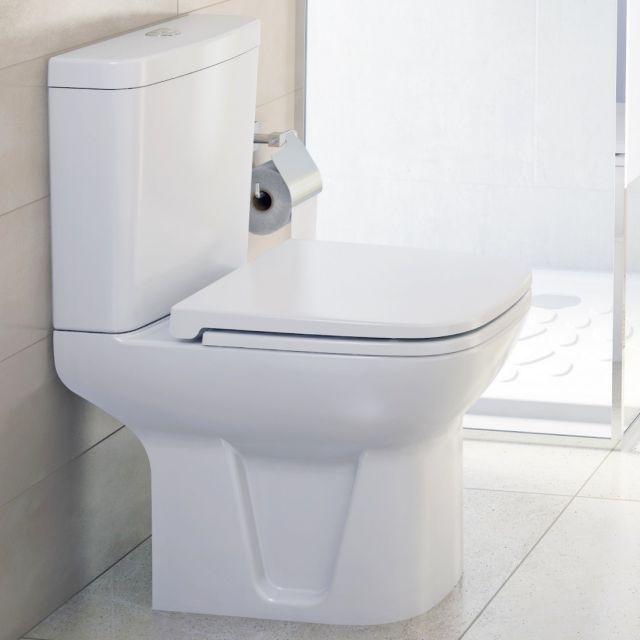 VitrA S20 Close Coupled Open Back WC