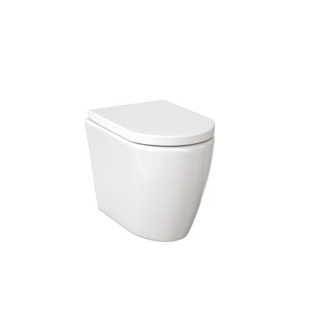 Saneux Uni Floor Standing Back to Wall Rimless WC