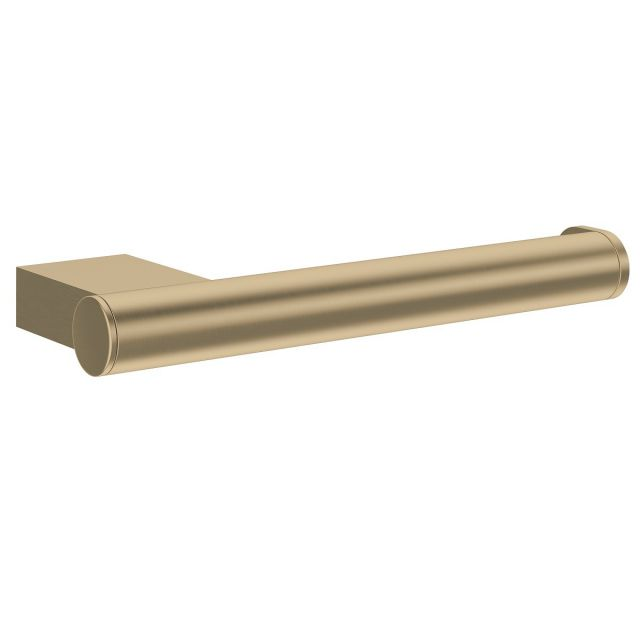 Crosswater MPRO Brushed Brass Toilet Roll Holder