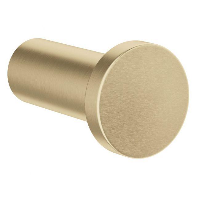 Crosswater MPRO Brushed Brass Robe Hook - PRO021F