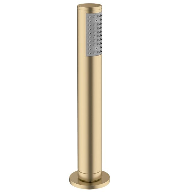 Crosswater MPRO Brushed Brass Deck Shower Handset and Hose