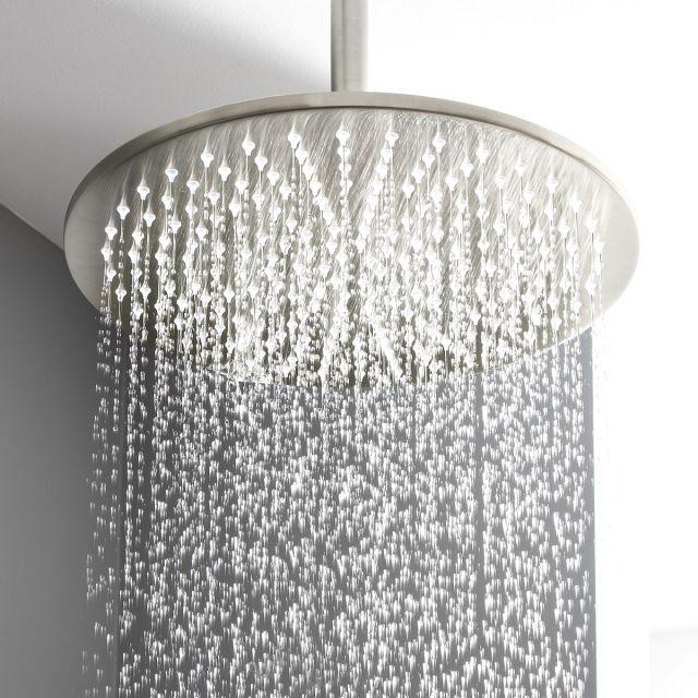 Crosswater MPRO Brushed Steel Shower Head