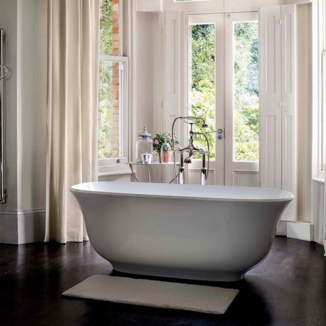 Victoria and Albert Amiata Double Ended Freestanding Bath