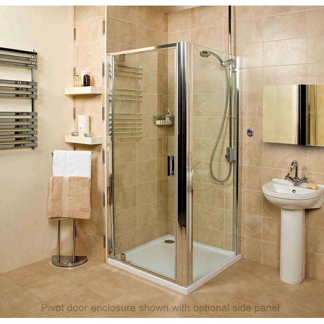 Roman Embrace Pivot Door Shower Enclosure