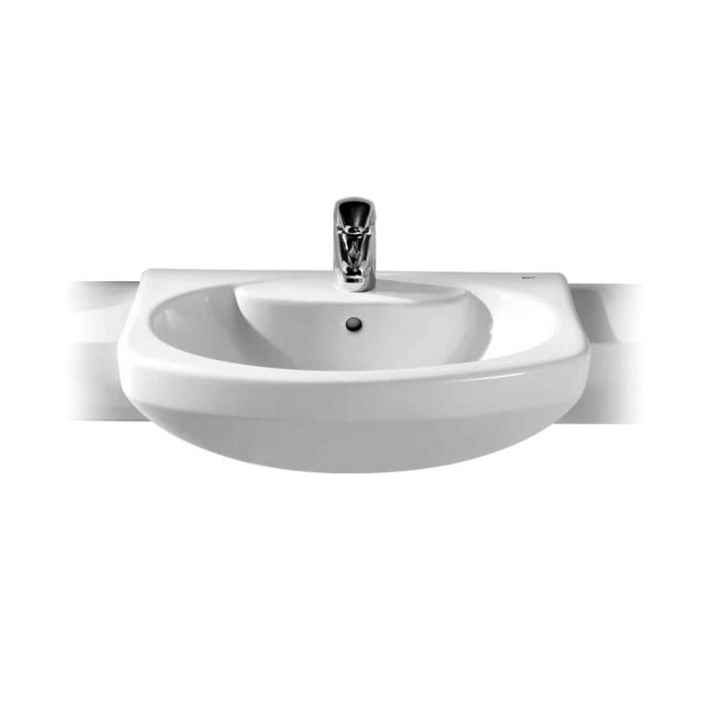 Roca Senso Compact 560mm Semi-recessed Basin