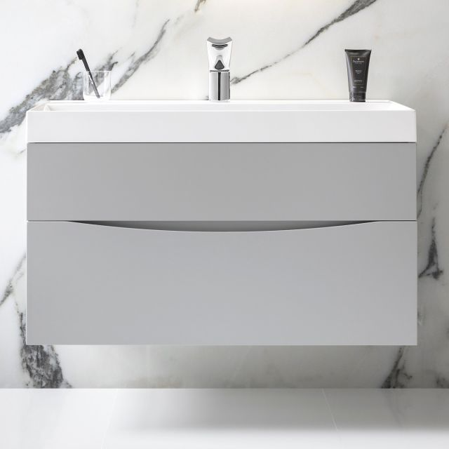 Crosswater Glide II Vanity Unit with Tall Basin