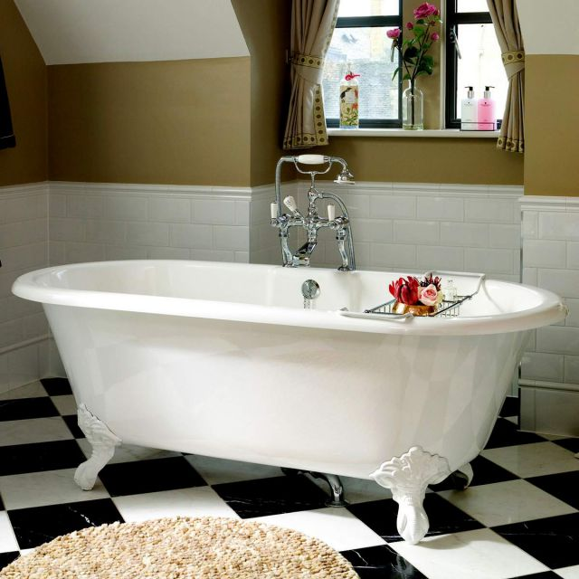 Victoria and Albert Cheshire Victorian Roll Top Bath