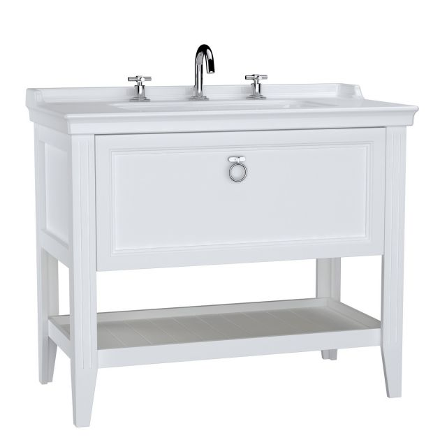 VitrA Valarte 1 Drawer 100cm Console and Basin