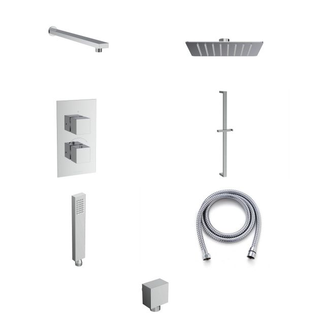Saneux Tooga Shower Package with Shower Rail