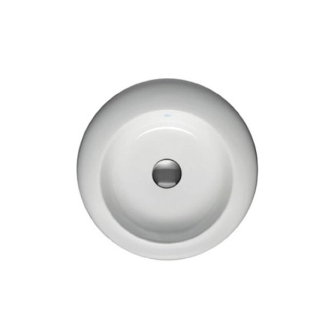 ideal standard simplyu 450mm natural round vessel basin uk bathrooms. Black Bedroom Furniture Sets. Home Design Ideas