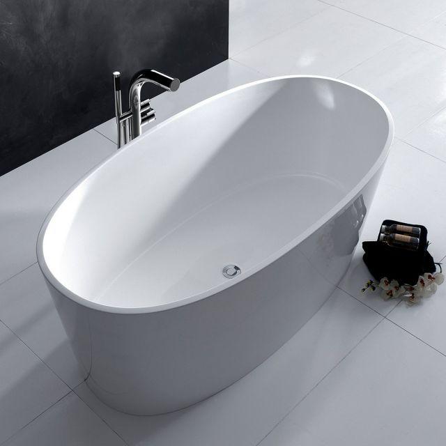 Victoria and Albert Tubo 14 Floorstanding Bath Mixer Tap with Handheld Shower