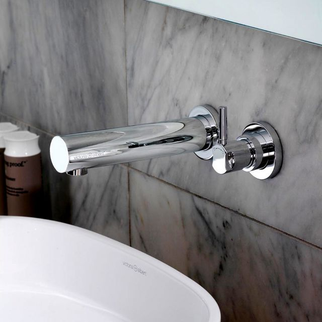 Victoria and Albert Tubo 17 Wall Mounted Basin Mixer Tap