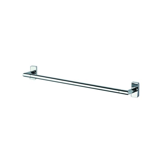 Inda Storm Chrome Towel Rail