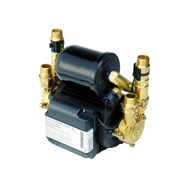 Stuart Turner Monsoon Universal N1.5 bar Twin Shower Pump