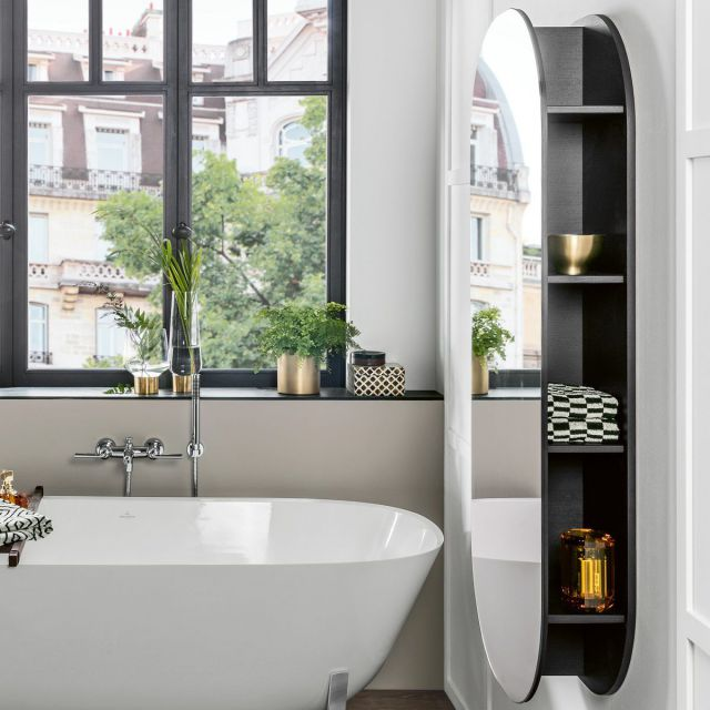 Villeroy and Boch Antheus Mirror with Shelves