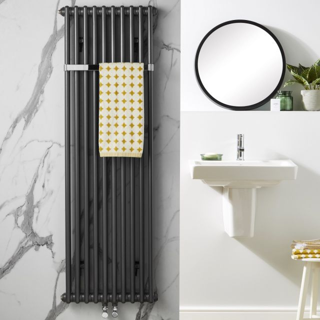 Zehnder Charleston Bar Anthracite Radiator