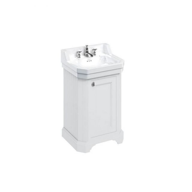 Burlington Medici 560mm Free-Standing Cloakroom Vanity Unit