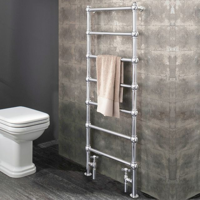 Crosswater Belle Traditional Towel Rail