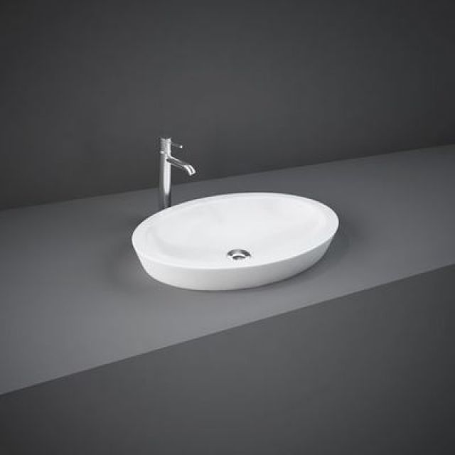 RAK Resort Oval Countertop Wash Basin