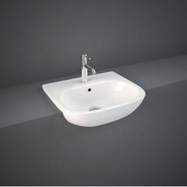 RAK Tonique Semi Recessed Wash Basin - TONSRBAS1