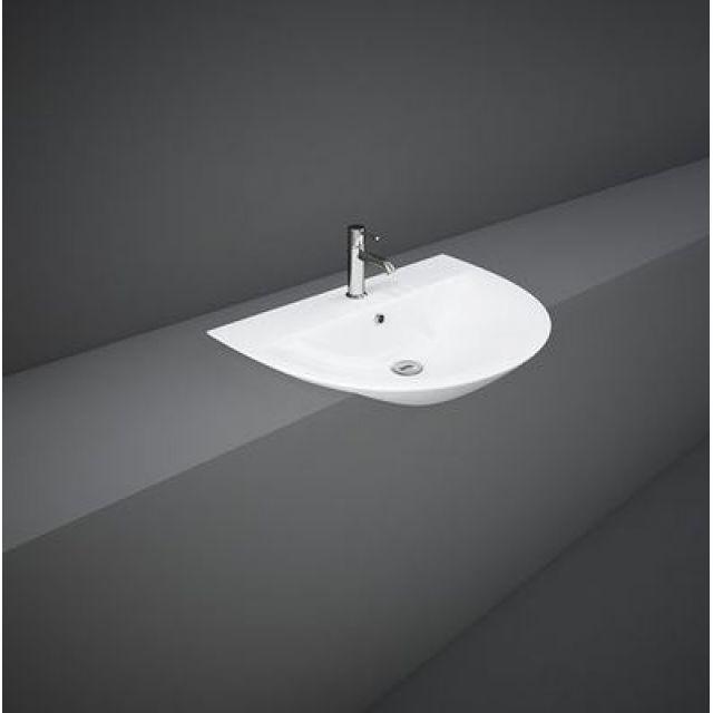 RAK Morning 550mm Semi Recessed Wash Basin
