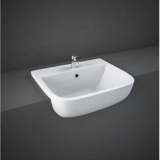 RAK Series 600 Semi Recessed Wash Basin - S60052SR1