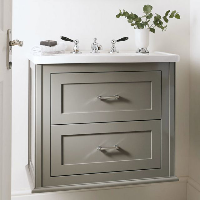 Imperial Thurlestone Wall Hung 2 Drawer Vanity