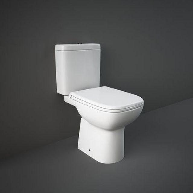 RAK Origin Open Back Close Coupled Toilet Suite